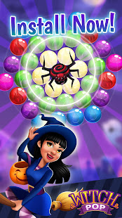 Witch Pop - Magic Bubble Shooter & Match 3 Wizard