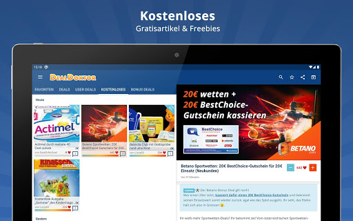 DealDoktor » Schnäppchen, Kostenloses, Gutscheine  screenshots 22