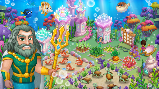 Aquarium Farm -fish town, Mermaid love story shark screenshots 21
