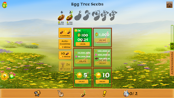 Easter Clicker: Idle Clicker, Easter Bunny Harvest