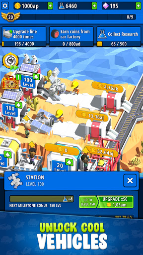 Idle Inventor - Factory Tycoon  screenshots 3