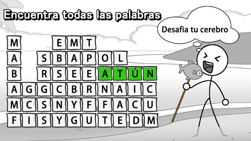 Aplasta Palabrasuff1aJuego de Palabras Gratis sin wifi 2.0501 screenshots 23