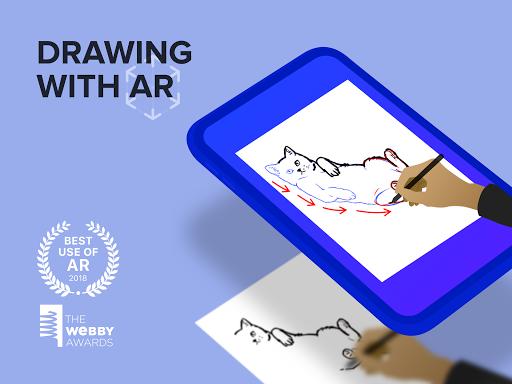 SketchAR Create Art Draw Paint Colours 5.73-play Screenshots 5
