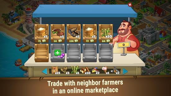Farm Dream - Village Farming Sim Game Mod Apk