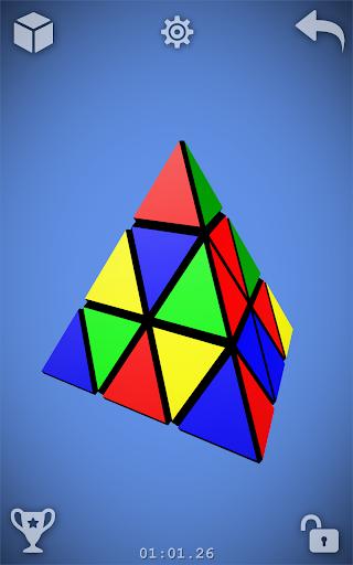 Magic Cube Puzzle 3D screenshots 5