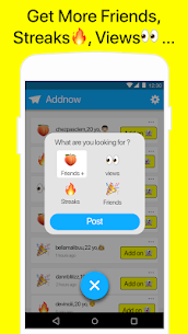 Free Friends for Snapchat – AddNow Apk Download 2021 4