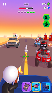 Rage Road Mod Apk- Car Shooting Game (Unlocked All Items) 2