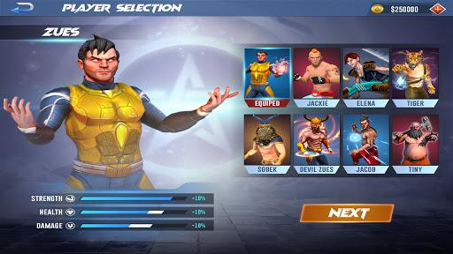 Kung fu fight karate Games: PvP GYM fighting Games  screenshots 15