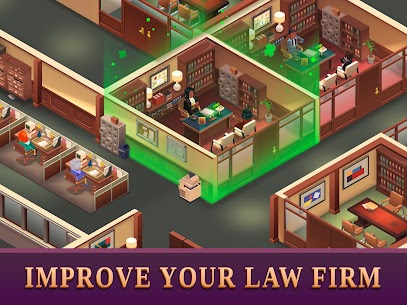 Law Empire Tycoon Mod Apk- Idle Game Justice Simulator (Unlimited Money) 8