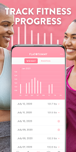 Flat Tummy App for Women | At Home Workouts & Diet
