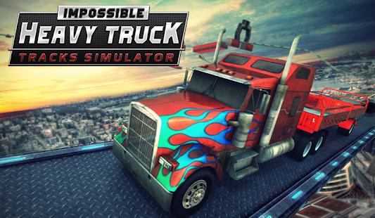 Impossible Heavy Truck Tracks Simulator Game 0.4 screenshots 1