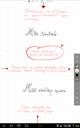 INKredible - Handwriting Note 2.5.1 Screenshots 6