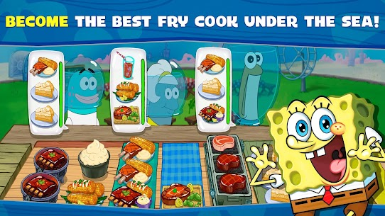 SpongeBob: Krusty Cook-Off (MOD, Unlimited Diamonds) 1