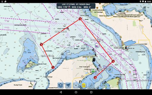 Marine Ways - Free Nautical Charts 1.24 Screenshots 9