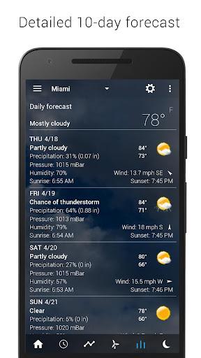 Digital clock & world weather 5.83.2 Screenshots 14