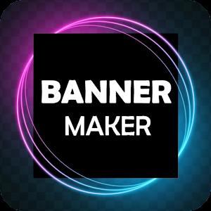 Banner Maker Thumbnail Maker Ad Cover Maker 1.6 by Graphic design Apps logo
