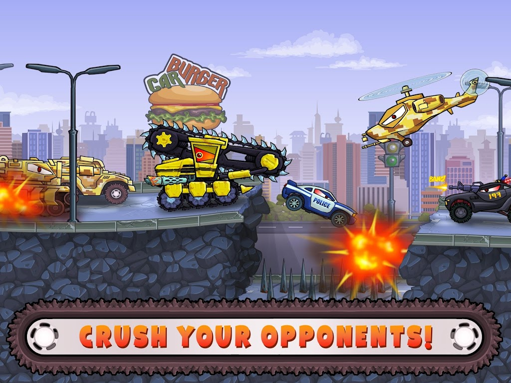 Car Eats Car 3 - Hill Climb Chase Race poster 11