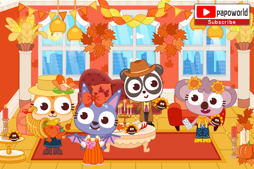 Papo Town Happy Festival  screenshots 4