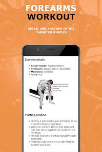 Forearms Workout Exercises