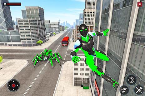 Flying Spider Rope Hero: Gangster Crime City 1.0 Screenshots 4