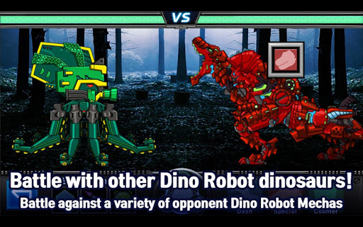 T-Rex Red - Combine! Dino Robot : Dinosaur games 2.1.9 screenshots 9