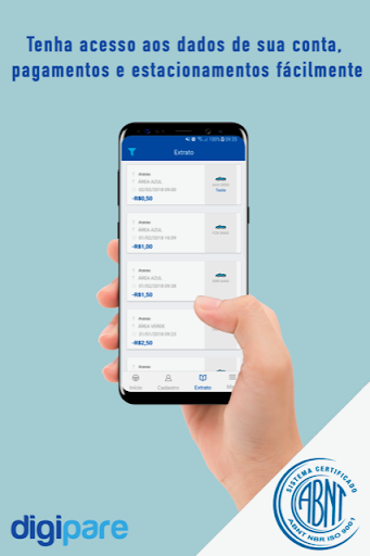 digipare: blue zone parking - mobile pay screenshot 3