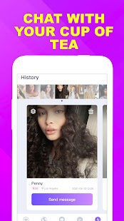 Wink - fun video chat, video call, match new ppl Screenshot