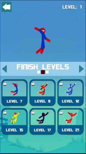 Super Hero Hook: Stickman Rope Swing 1.0.6 screenshots 9