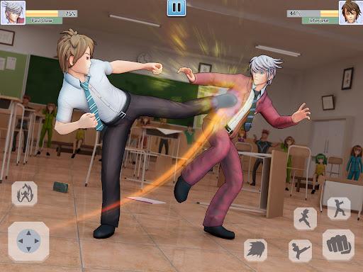 High School Bully Gang: Karate Fighting Game  screenshots 5