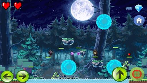 Télécharger Gratuit Shadow Man - Crystals and Coins APK MOD (Astuce) screenshots 1