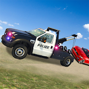 US Police Tow Truck Transport  Simulator Game 2019