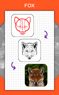 How to draw animals. Step by step drawing lessons 1.5.3 Screenshots 12