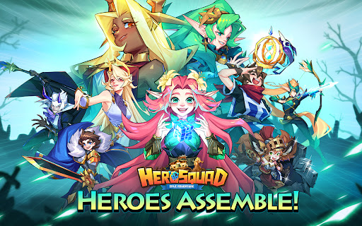 Hero Squad - Idle Adventure  screenshots 10
