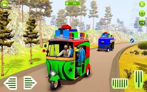 Modern auto tuk tuk Real rickshaw game 2021 screenshots 1