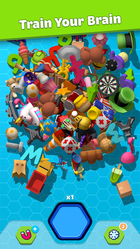 Duplica 3D - objects matching puzzle apkpoly screenshots 2