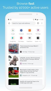 Kiwi Browser - Fast & Quiet Screenshot