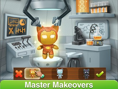 Cat Home Design: Decorate Cute Magic Kitty Mansion 1.20 Apk + Mod 5