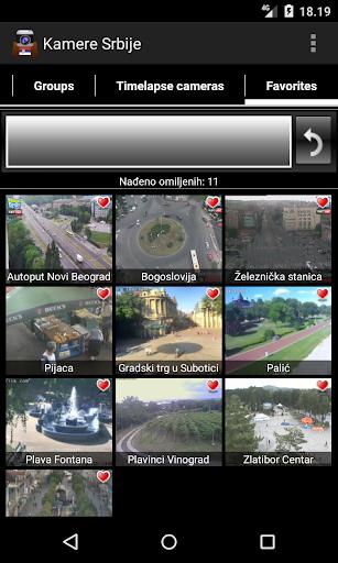 Webcams Belgrade and Serbia 8.6.3 screenshots 5