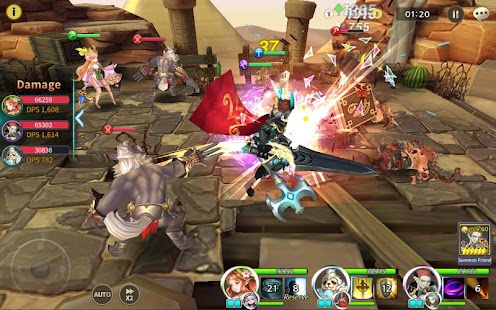 Soul Seeker: Six Knights – Strategy Action RPG Screenshot