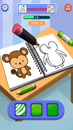 Happy Coloring Book Learn Paint : Coloring Games  screenshots 1