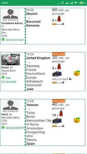 Blablataxi: Carpooling  Screenshots 3