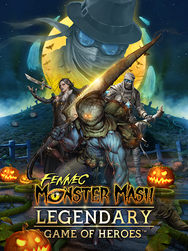 Legendary: Game of Heroes - Fantasy Puzzle RPG screenshots 1