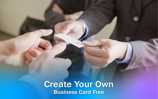 Business Card & Invitation Maker android2mod screenshots 11
