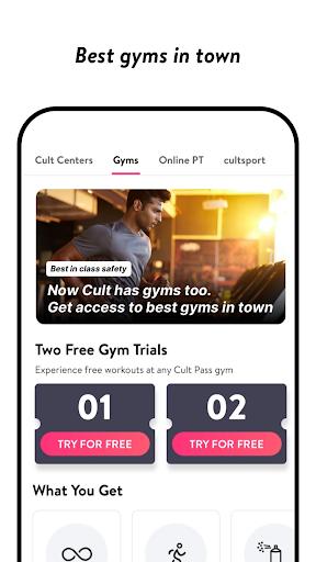 cult.fit Fitness, Meditation, Healthy food, Doctor  screenshots 4