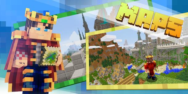 Download Minecraft MOD APK 1.16.210.60 (Unlocked Premium Skins) MOD 2