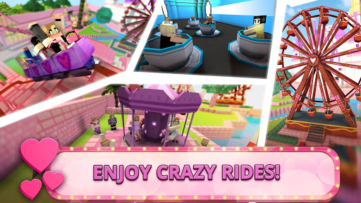 Girls Theme Park Craft: Water Slide Fun Park Games  Screenshots 2