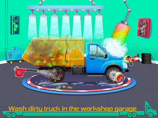 Kids Truck Games: Car Wash & Road Adventure android2mod screenshots 2
