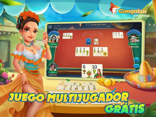 Conquian Espau00f1ol - ZingPlay 407 7