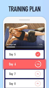 Abs Workout - Burn Belly Fat with No Equipment 1.3.2 Screenshots 5
