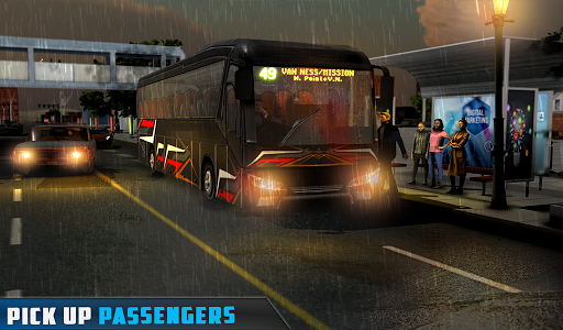 Coach Bus Simulator - City Bus Driving School Test 2.1 screenshots 12